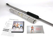 Bodyblade Exercise Equipment Classic Kit DVD and Poster NEW- open box