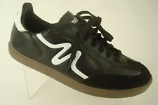 Mitre Madero Men's Athletic Shoes Size 7.5 Black White Indoor Soccer Casual