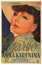 Greta Garbo, Anna Karenina Movie Film Image from Germany, MGM -- Modern Postcard