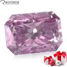 Argyle GIA Fancy Intense Pink Radiant cut Loose Diamond for Engagement Ring 466