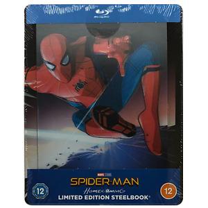 Spider-Man Homecoming Lenticular Blu-Ray Steelbook - UK Release