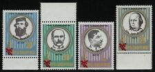 Albanien 1988 - Mi-Nr. 2369-2372 ** - MNH - Persönlichkeiten (I)