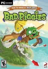 Brand New & Sealed- BAD PIGGIES (from the Makers of Angry Birds)  PC Game CD