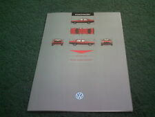 January 1986 VW JETTA GT FUEL INJECTION UK COLOUR FOLDER BROCHURE - GTi