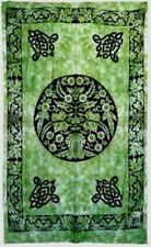 Green Man Light Bedspread: Tapestry, Wall Hanging, Throw 72 x 108 Greenman