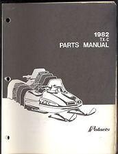 1982 Polaris Tx-C Snowmobile Parts Manual