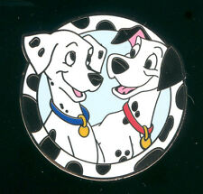 Good Vs Evil Mystery Pack Pongo and Perdita 101 Dalmatians Disney Pin 90954
