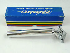 Campagnolo Super Record seatpost 26.6 Vintage Road Racing Bicycle 26.6 New NOS