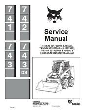 heavy equipment manuals books for bobcat auger for sale ebay rh ebay com Bobcat 743B Specs Bobcat 743B Glow Plug Location