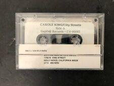Vtg Carol King City Streets Promo Cassette