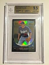 2013 Bowman Chrome Mini Black Refractor Corey Seager #01/25  BGS GEM MINT 9.5