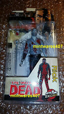 The Walking Dead Rick Grimes Bloody Black & White Action Figure ECCC NEW
