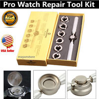 New Pro Watch Repair Tool Kit Back Case Opener Cover Remover for Watches HS