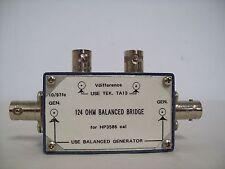 HP 3586 124 OHm Balanced Bridge 10/97 Fc