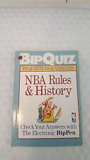 BipQuiz NBA: BipQuiz : NBA Rules and History by Sterling Publishing Company Staf