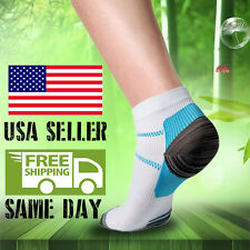 Arch support Compression Anti-Fatigue Socks Plantar Fasciitis Heel Pain Relief