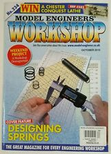 Model Engineers Workshop Designing Springs Projects Oct 2015 FREE SHIPPING JB