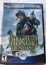Medal Of Honor Frontline PS2 Playstation 2 Game Tested