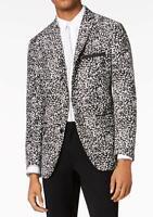 AOWOFS Blazers Homme Un Bouton Mode Slim Fit El/égant Style National Casual