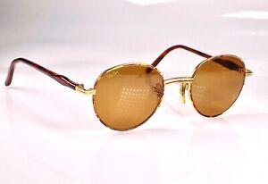 Vintage 1990's B&L Ray Ban Rituals Tortuga Round Metal W2546 Sunglasses