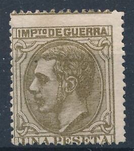 [39038] Spain 1879 Good war stamp Very Fine MH signed see 2 pictures
