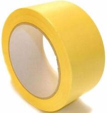 36x Bodenmarkierungsband Gelb 50mm x 33m Markierungsband Klebeband
