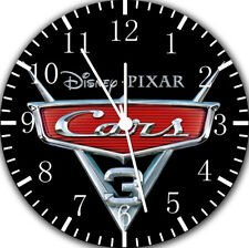 Disney Cars 3 Wall Clock Nice For Gift or Home Office Wall Decor F49