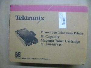 Toner Originale Tektronix Phaser Magenta 740 016-1658-00 016165800 Conf. Orig.