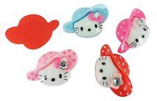 Resin Kitty Gem Hat Flatback Scrapbooking Embellishments Cabochon Glue On Trim