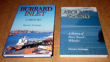 2 Books BURRARD INLET HOWE SOUND WHISTLER VANCOUVER BRITISH COLUMBIA SHIPS BOATS