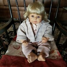 Zapf Luise collectors Designer doll by Bettine Klemm 2001
