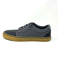 Vans Chukka Low Asphalt Pewter Men's 13 Skate Shoes New Grey Gray Gum