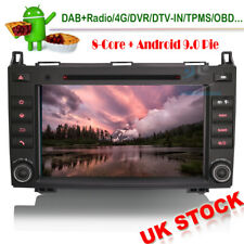 Android 9 GPS SatNav DAB Radio Stereo WiFi CD BT Head Unit For Mercedes Sprinter