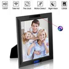 Hidden Camera Clock 1080P HD Wireless WiFi,Night Vision and Motion Detection