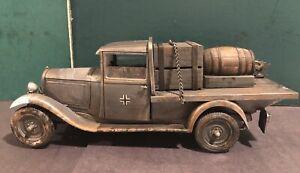Elastolin / Lineol: German Heavy Truck, c1940. 70mm Scale