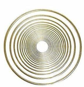 "Braiding R6M Brass Ring 6"" Diameter"