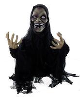Halloween Zombie hüpfend mit Licht & Sound (110cm) Deko Dekoration Horror Geist