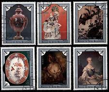 [Z5] 1Cuba 1975 Mi 2049-2054 Decorative Art Museum CTO (1)