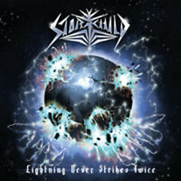 LIGHTNING NEVER STRIKES TWICE  by STORMCHILD  Compact Disc  SR053
