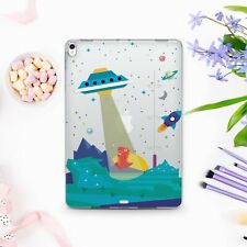 Cartoon UFO iPad 9.7 10.5 2017 Pro 12.9 Case Space iPad Mini 3 4 5 Air 3 2019