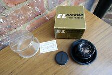Boxed Cased EL-Nikkor F2.8 50mm Enlarging Lens