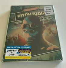 Pitch Black: The Chronicles of Riddick Limited Edition Blu-ray & Dvd Steelbook