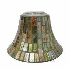 WoodWick Copper Glow Candle Light Shade and Plate - For Scented Candle Jars