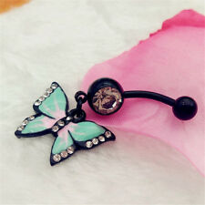 Cute Butterfly Sexy Piercing Body Jewelry Belly Button Ring Navel Piercing