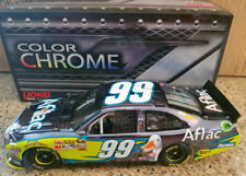 CARL EDWARDS 2012 #99 COLOR CHROME AFLAC FORD 1/24 NEW IN BOX