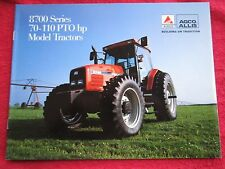 AGCO ALLIS 8700 SERIES, MODELS 8745, 8765, 8775, & 8785 TRACTORS BROCHURE