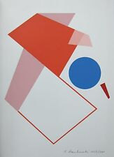 Anton Stankowski # COMPOSITION # Orig.silkscreen, numb, signed/dated, 1991, MINT
