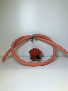 Calor Patio gas 27mm clip on Propane regulator and Gas Hose Bundle