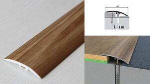 Dural Multifloor Door Bar Threshold  Strip Cover  Laminate Floor 1m Oak 3E  42mm