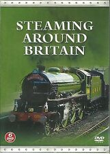 STEAMING AROUND BRITAIN - 6 TRAIN DVD BOX SET - GWR LINES, SOUTH EAST & MORE